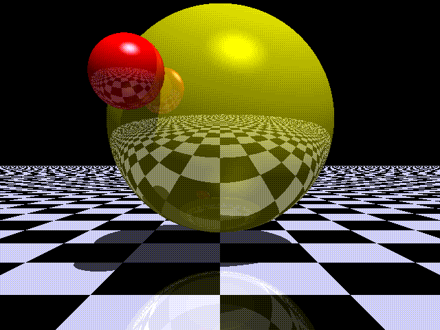 Raytraced image